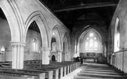 Burton In Lonsdale, Church Interior 1890