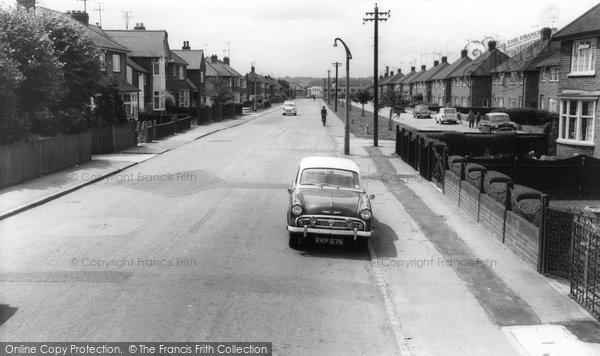Burton Latimer, Station Road c.1960