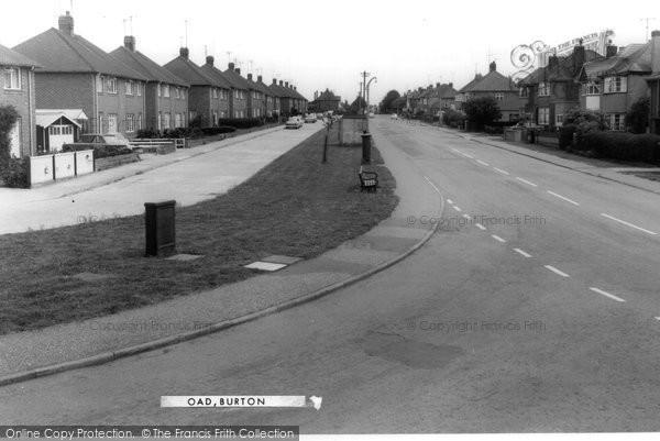 Burton Latimer, Station Road c.1965