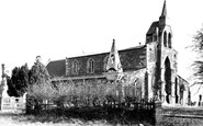 Burton Lazars, St James's Church c.1955