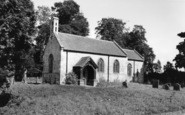 Burton Leonard, St Leonard's Parish Church c.1960