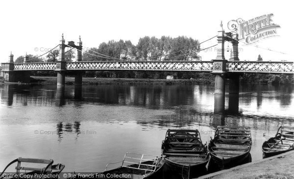 Burton On Trent, Ferry Bridge c.1960