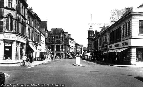 Burton On Trent, High Street 1961