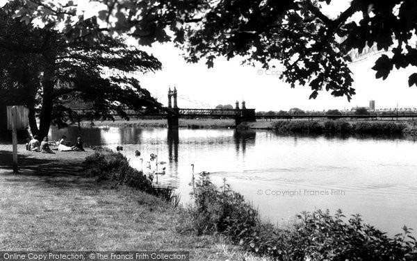 Burton On Trent, Stapenhill 1961