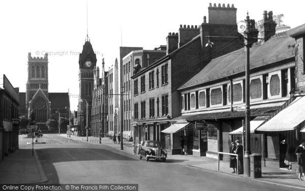 Burton On Trent, The Town Hall c.1965