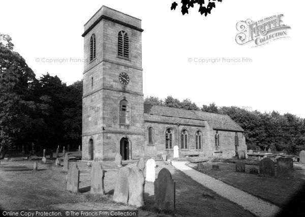Burton, St Nicholas Church c.1960