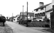 Burton, The Village c.1955