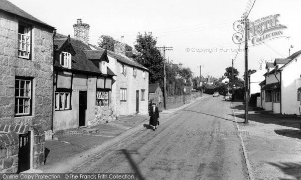 Burton, The Village c.1960