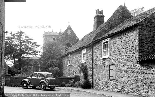 Burton Upon Stather, St Andrew's Church c.1955