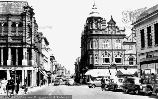 Burton Upon Trent, High Street 1961