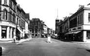 Burton upon Trent, High Street 1961