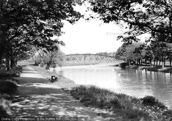 Burton Upon Trent, The River Trent c.1960