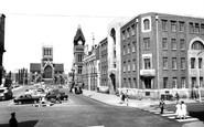 Burton Upon Trent, The Town Hall c.1965