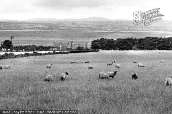 Burton, View Of Moel Fammau c.1960
