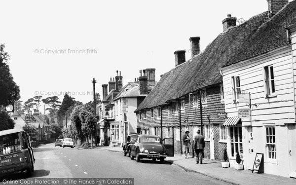Burwash, High Street c.1960
