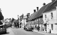 Burwash, High Street c.1960