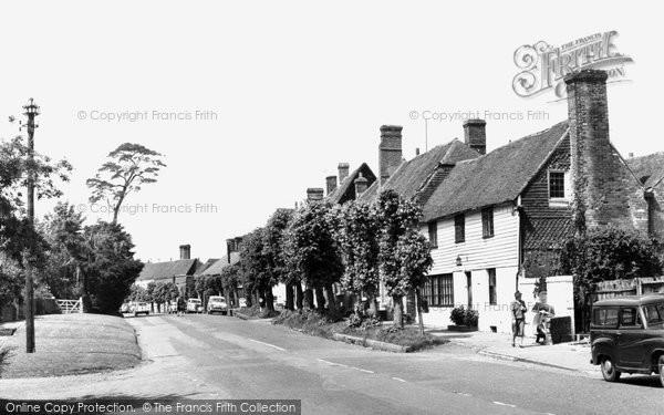 Burwash, The Village c.1960