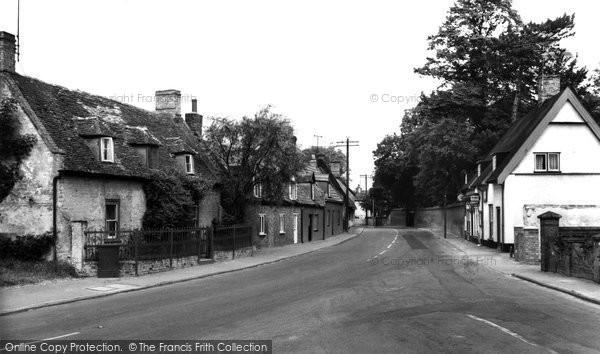 Burwell, High Street c.1960