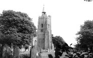Burwell, St Mary's  Church c.1955