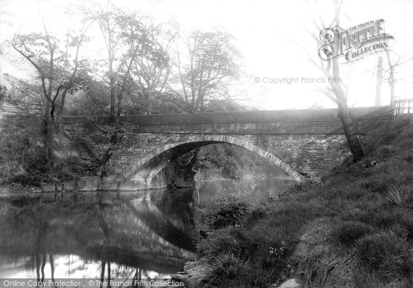 Bury, Chasewell Bridge 1896