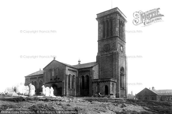 Bury, Elton, All Saints' Church 1895
