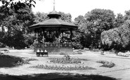 Bury, Manchester Road Park c.1955