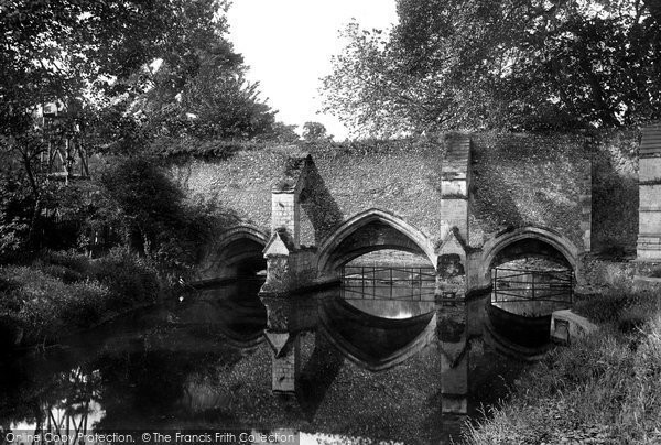 Bury St Edmunds, Abbey Bridge 1922