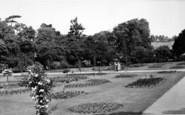 Bury St Edmunds, Abbey Gardens c.1960