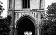 Bury St Edmunds, Abbey Gate c.1955