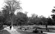 Bury St Edmunds, Abbey Grounds 1922