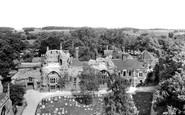 Bury St Edmunds, Abbey Ruins 1929
