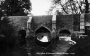 Bury St Edmunds, Abbot's Bridge 1898