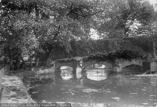 Bury St Edmunds, Abbots Bridge 1922