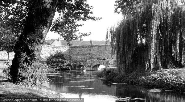 Bury St Edmunds, Abbots Bridge c.1955