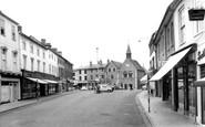 Bury St Edmunds, Butter Market c.1965