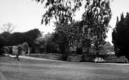 Bury St Edmunds, Cloister Gardens c.1955