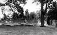 Bury St Edmunds, Cloister Gardens c.1965