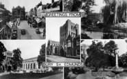 Bury St Edmunds, Composite c.1955