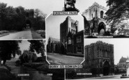 Bury St Edmunds, Composite c.1965