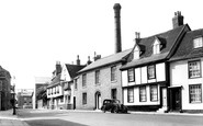 Bury St Edmunds, Crown Street c.1955