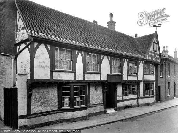 Bury St Edmunds, Dog And Partridge Hotel 1929