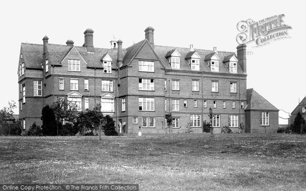 Bury St Edmunds, King Edward's Grammar School 1898