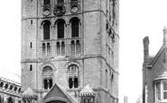 Bury St Edmunds, Norman Tower 1898