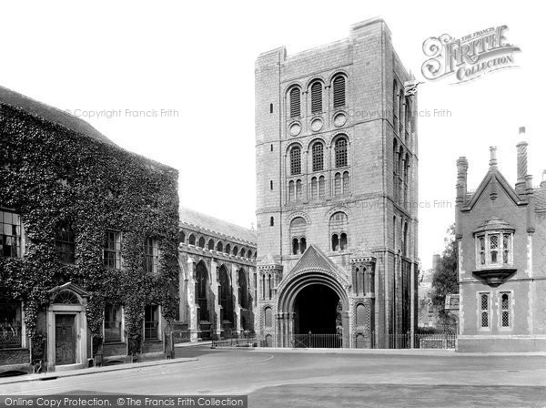 Bury St Edmunds, Norman Tower 1929