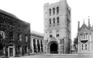 Bury St Edmunds, Norman Tower 1929