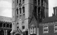 Bury St Edmunds, Norman Tower c.1900