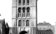Bury St Edmunds, Norman Tower c.1955