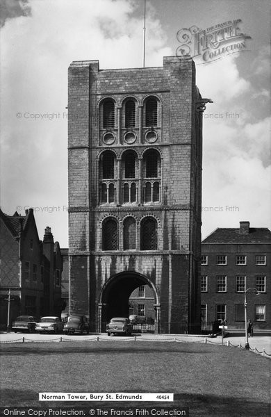 Bury St Edmunds, Norman Tower c.1963