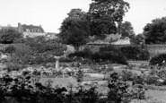 Bury St Edmunds, Rose Garden c.1960
