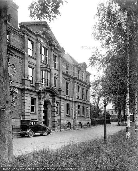 Bury St Edmunds, Shire Hall 1929